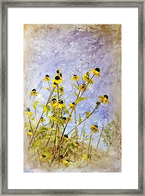 On The Prairie Framed Print by Davina Washington