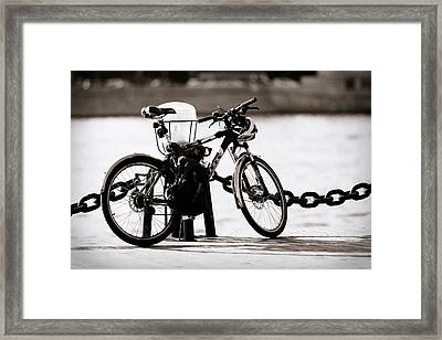 On The Quay - Featured 3 Framed Print by Alexander Senin