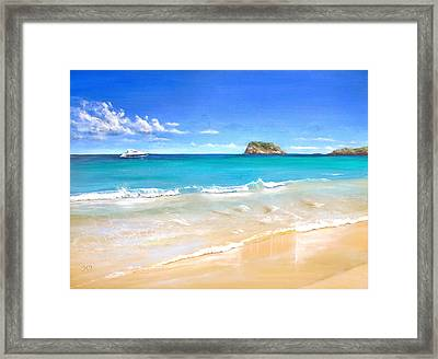 On The Quiet Side..... Framed Print by Heather Matthews