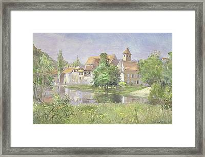 On The River Lot, 1991 Wc Framed Print