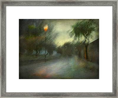 Framed Print featuring the photograph On The Road #12. Xynthia's Trail by Alfredo Gonzalez