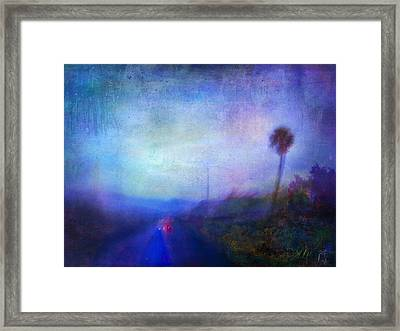 On The Road #18 - Lights In Time Framed Print by Alfredo Gonzalez