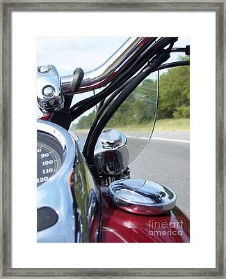 On The Road Again By Angelia H Clay Framed Print