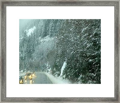 On The Road Again Framed Print by Janet Ashworth