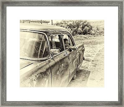 On The Road Framed Print by Phil Callan Photography