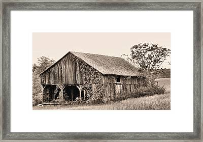On The Road To Flint Hills Framed Print by JC Findley