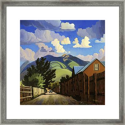 On The Road To Lili's Framed Print by Art James West