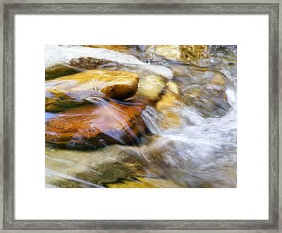On The Rocks Framed Print by Edward Hamilton