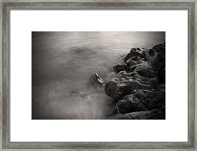 On The Rocks Framed Print by Fizzy Image