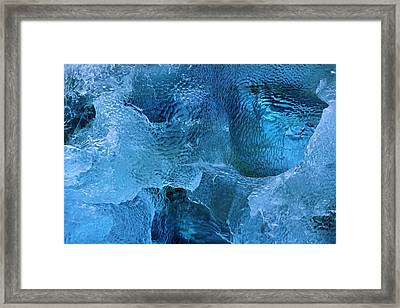 On The Rocks Framed Print by Tony Beck