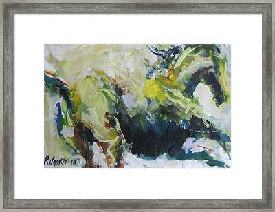On The Run No.3 Framed Print