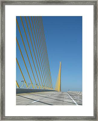 On The Sky Way Brigde  Framed Print by Christiane Schulze Art And Photography