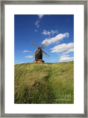 On The Skyline Framed Print by Paul Felix