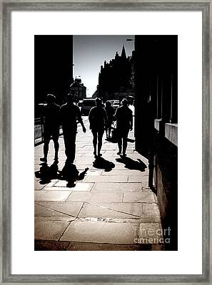 Framed Print featuring the photograph On The Street by Craig B