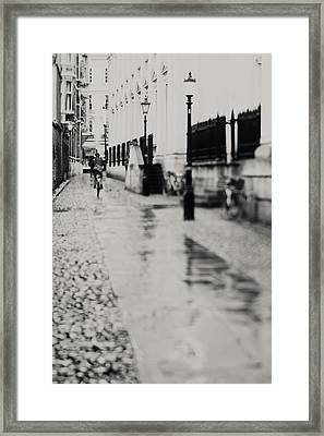 On The Streets Of Cambridge ... - Fine Art Photograph Framed Print