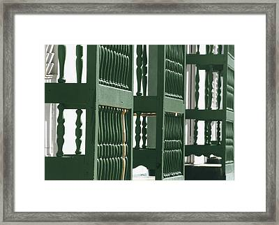 On The Sunny Side Of The Street.. Framed Print