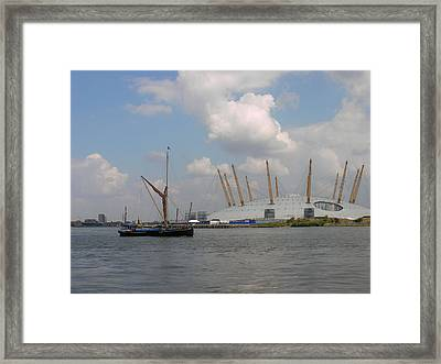 On The Thames Framed Print