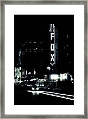 On The Town Framed Print by Scott Rackers