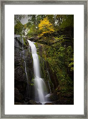 On The Verge Framed Print by Ben Shields