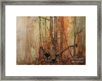 On The Verge Framed Print