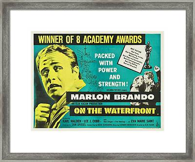 On The Waterfront - 1954 Framed Print