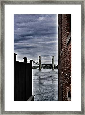 On The Waterfront Framed Print by John Adams