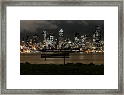On The Water's Edge Framed Print