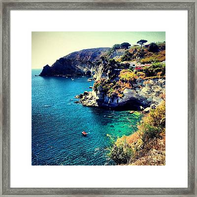 On The Waters Of St. Angelo Framed Print by H Hoffman