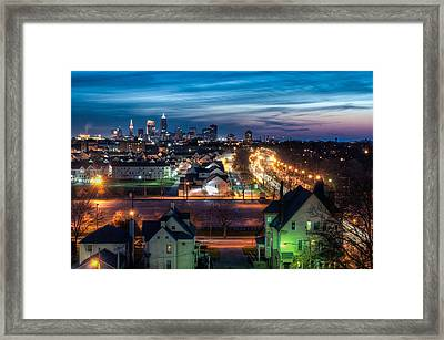 On The Way Home Framed Print by At Lands End Photography