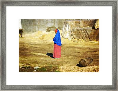 On The Way To Alexandria Framed Print by Mary Machare