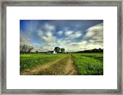 On The Way To Emo Framed Print by Jakub Sisak