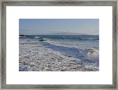 On The Whispering Sea  Framed Print by Sharon Mau