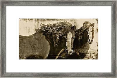 Winds Of Time Framed Print