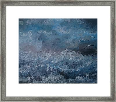 On The Wing Framed Print by Isabella F Abbie Shores FRSA