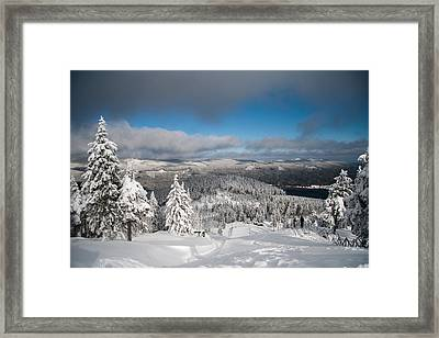 on the Wurmberg II Framed Print by Andreas Levi