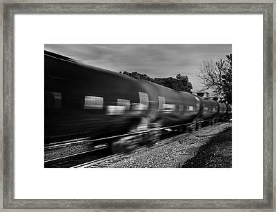 On Time Framed Print