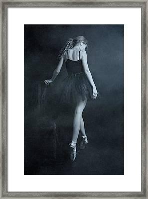On Tip Toes Framed Print