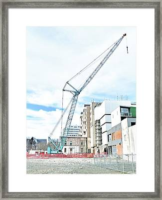 On Tiptoes Framed Print by Steve Taylor
