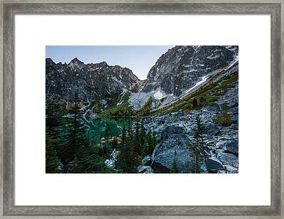 On To Aasgard Pass Framed Print by Mike Reid