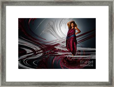 On Top And Over Framed Print