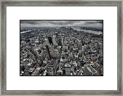 On Top Framed Print