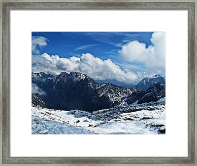 On Top Of Germany Framed Print