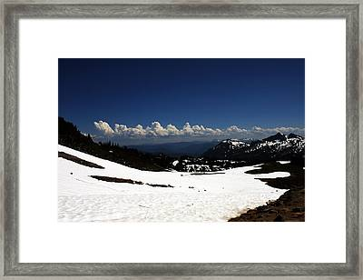 On Top Of Paradise Framed Print