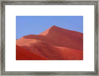 On Top Of The World Framed Print by Aidan Moran