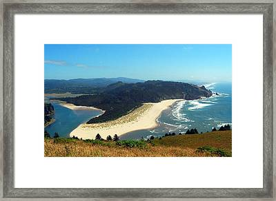 On Top Of The World Framed Print by Mamie Gunning