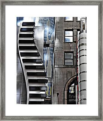 On West 42nd Street 2 Framed Print by Sarah Loft