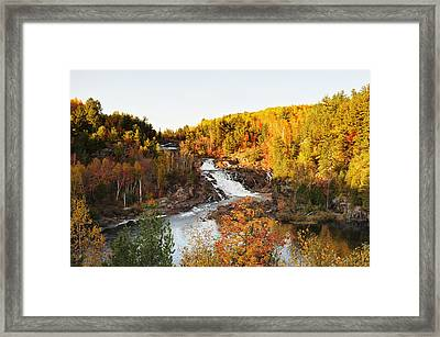 Onaping Falls Framed Print by Tanya Harrison
