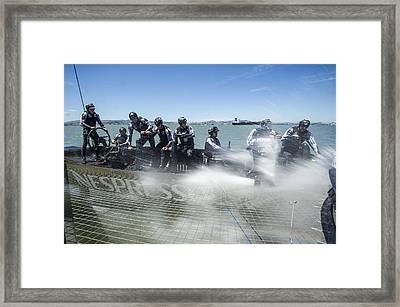 Onboard Etnz Nzl5 Framed Print by Chris Cameron