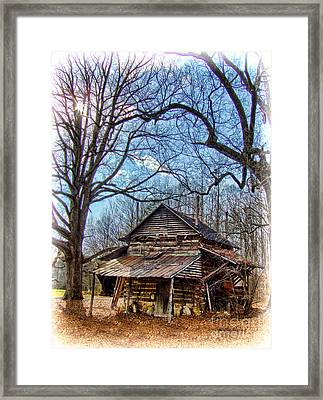 Once A Home Framed Print