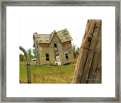 Once A Home Framed Print by Ron Haist
